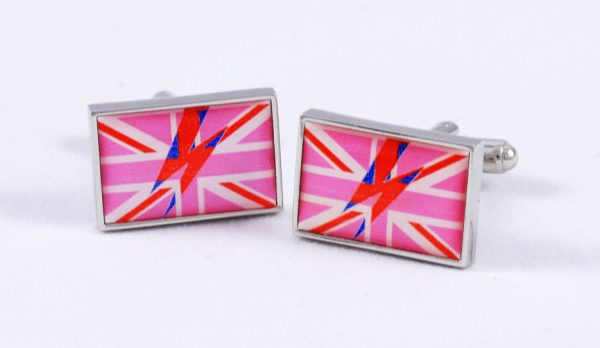 Bowie Flash cufflinks