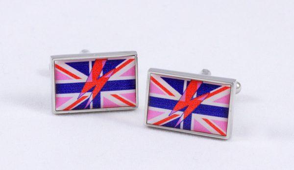 Bowie Blue cufflinks