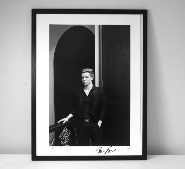 Signed portrait of Ronan Parke