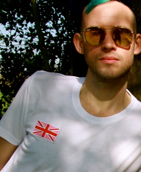 White Tee with emblem
