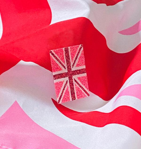 PinkJack Glitter Sticker (pack of 5)