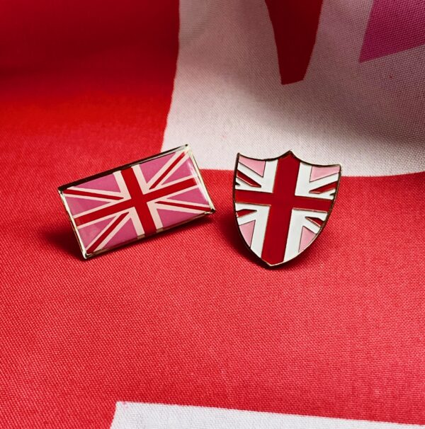 Flag & Shield Badge
