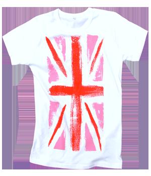 Large PinkJack Cotton T-shirt