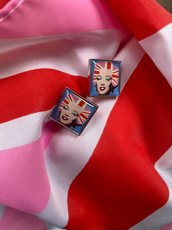 Marilyn cufflinks