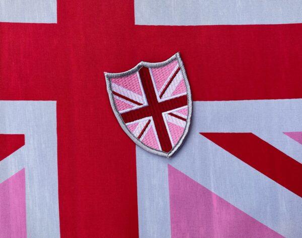 PinkJack Shield. Sew on patch